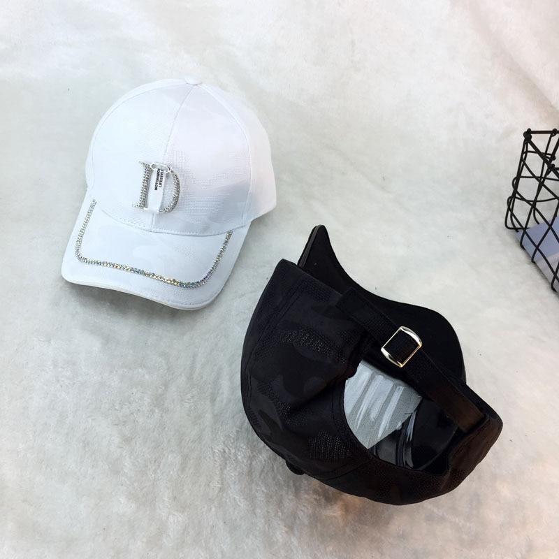 Chapéu de beisebol unissex, boné de