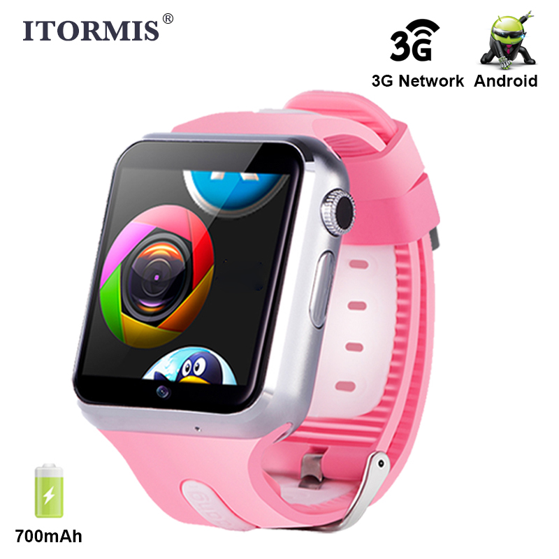 ITORMIS Android Bluetooth Smart Watch support Wifi 3G WhatsApp Facebook Network SIM TF Card Phone Smartwatch for Men Women KidsITORMIS Android Bluetooth Smart Watch support Wifi 3G WhatsApp Facebook Network SIM TF Card Phone Smartwatch for Men Women Kids