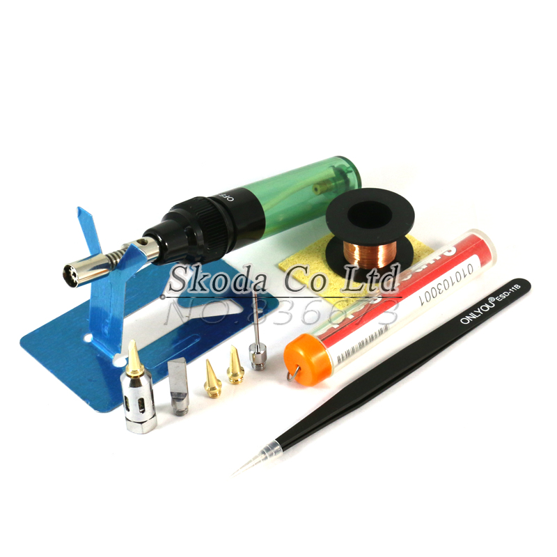 Free shipping Gas Blow Torch Soldering Solder Iron sets MT-100 gas soldering iron tools