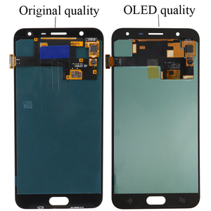 Image 4 - Süper AMOLED 5.5 SAMSUNG Galaxy J7 Duo 2018 J720 J720F AMOLED LCD ekran dokunmatik ekran Digitizer meclisi ayarlanabilir