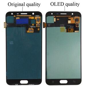 Image 4 - SUPER AMOLED ЖК дисплей 5,5 дюйма для SAMSUNG Galaxy J7 Duo 2018, J720, J720F, AMOLED ЖК дисплей, дигитайзер сенсорного экрана в сборе, регулируемый