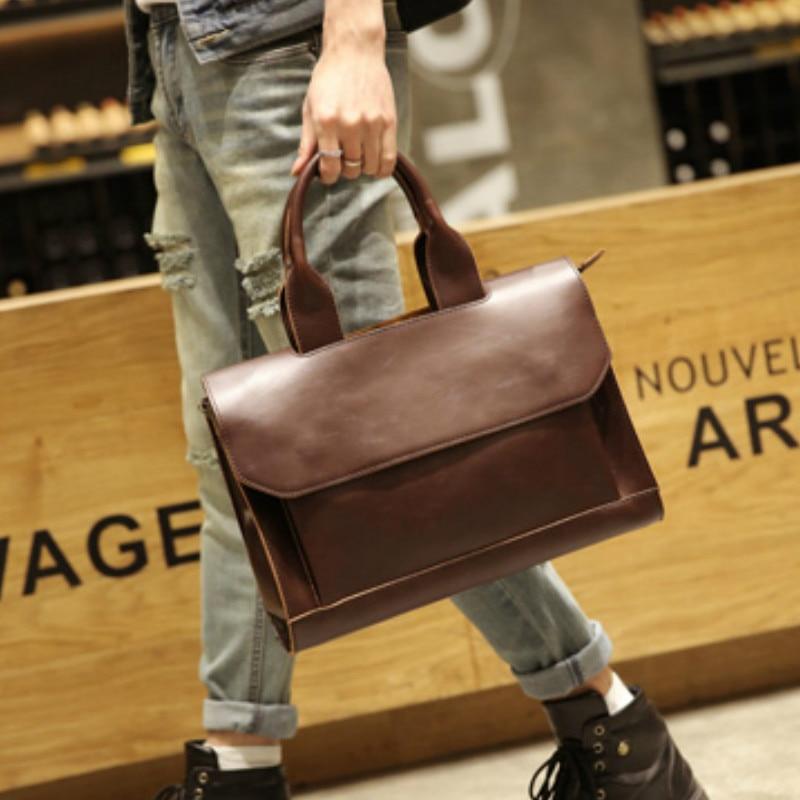 Tidog Original New Tide Fashion Leisure Bag Business Bag Briefcase
