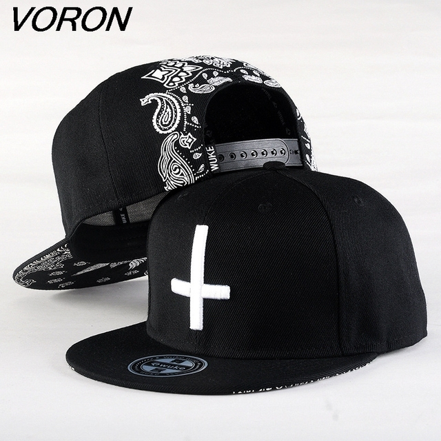 a4788a9e5269b US $4.61 34% OFF VORON2017 New Brand Street Dance Cool Hip Hop Caps  Embroidery Cross Snapback Snap Back Baseball Caps Hats Bone Hat Free  Shipping-in ...