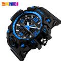 SKMEI Mens Sport Watches Big Dial Quartz Watch Male LED Display Digital Relogio Masculino Brand Fashion Waterproof Wristwatches