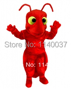 mascot Red Fire Ant mascot costume custom costume cosplay Cartoon Character carnival costume fancy Costume party