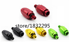 2 PCS Mountain Bike Derailleur adjustable bolt aluminum fine - tuning shifting cable tube screw