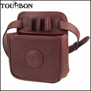 Tourbon-Hunting-Tactical-Rifle-Gun-Cartridges-Bag-Shotgun-Ammo-Shells-Case-Durable-Leather-Pouch-with-Large
