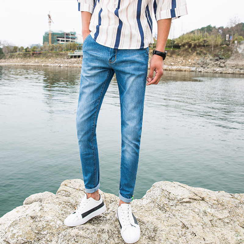 Fashion Wear and washed jean pants