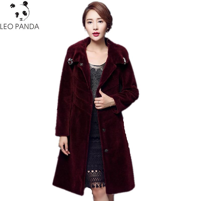 Des Chaude Réel Femmes black Luxe tibetan Fourrure Longue Red De Blue Mode  Manteaux D hiver ... a8b406555bc