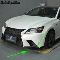 Для Lexus GS F Sport GS350 изменение углеродного волокна спереди фартук Splitter стайлинга автомобилей 2012 2013 2014 2015
