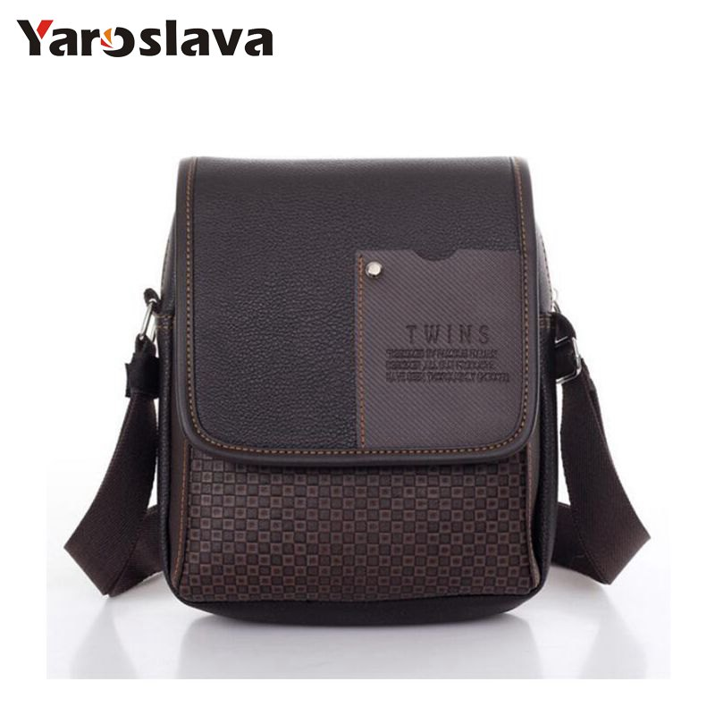 vintage Men's bag shoulder crossbody bags for men messenger bag men leather Pu plaid small male handbags black 2017 LL46 neweekend genuine leather bag men bags shoulder crossbody bags messenger small flap casual handbags male leather bag new 5867