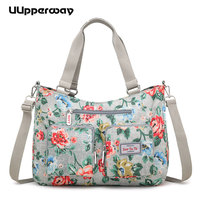 Women Floral Handbag Top Handle Shoulder Bags Rose Butterfly Female Large Messenger Bag Famous Designer Clutch Crossbody Bolsa