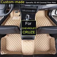 For Chevrolet Chevy Cruze 2009 2014 Cruze 2015 Car Floor Mats Car Styling Floor Carpets Custom