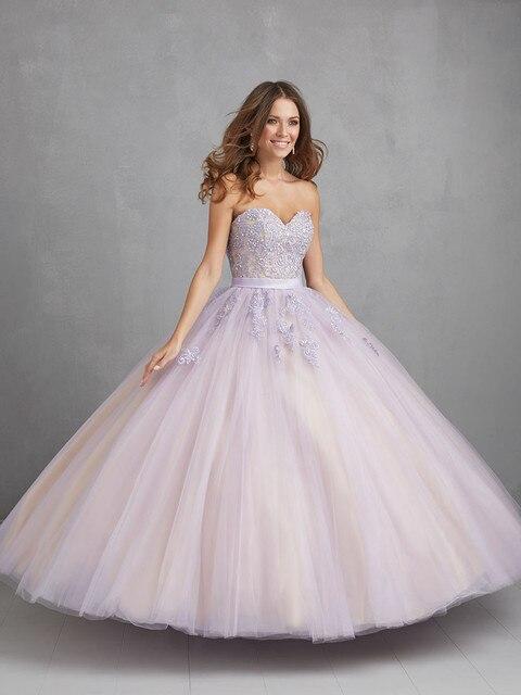 3c4133a35 Sweetheart Tulle Beaded Appliques Ball Gown White Quinceanera Dresses  Vestidos De 15 Anos Blancos Vestido Debutante Preto