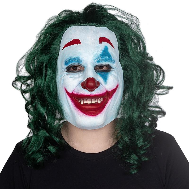 2019 Le Joker Film Masque Joaquin Phoenix Cosplay Bande Dessinee