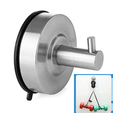 DIY Bathroom Wall Hooks for Clothes Towel Wall Hook Kitchen Stainless Steel  Strong Suction Cup Key Hat Bag Hanger Rack Holder