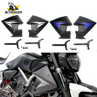 Motorcycle Radiator Side Panels Protector Cover Fairing For 2014 2018 Yamaha FZ MT 07 MT 07 FZ 07