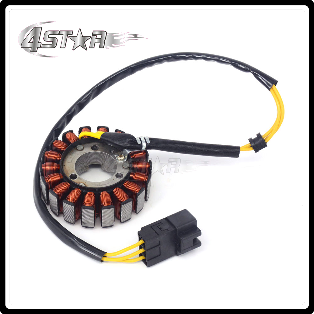 motorcycle magneto engine stator generator charging coil copper
