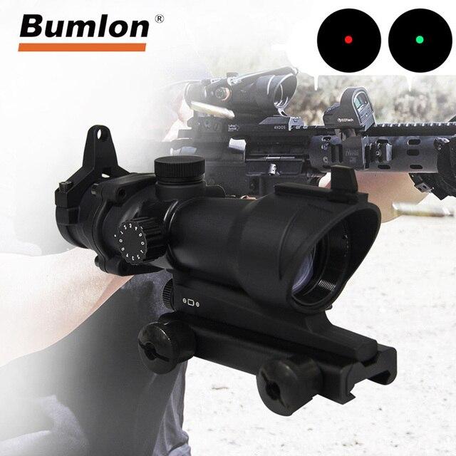 نطاقات بندقية بصرية منقطة حمراء اللون 1X32 من acug بالتحكم في المستوى 5 نطاقات للصيد بنقاط أحمر مع قضيب 20 مللي متر لمسدس Airsoft