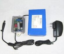 12V 24V ,18V19V,20V,17AH 52000MAH Lithium polymer LiPo rechargeable battery 6AH voltage regulator,30 plugs for Laptop Power Bank