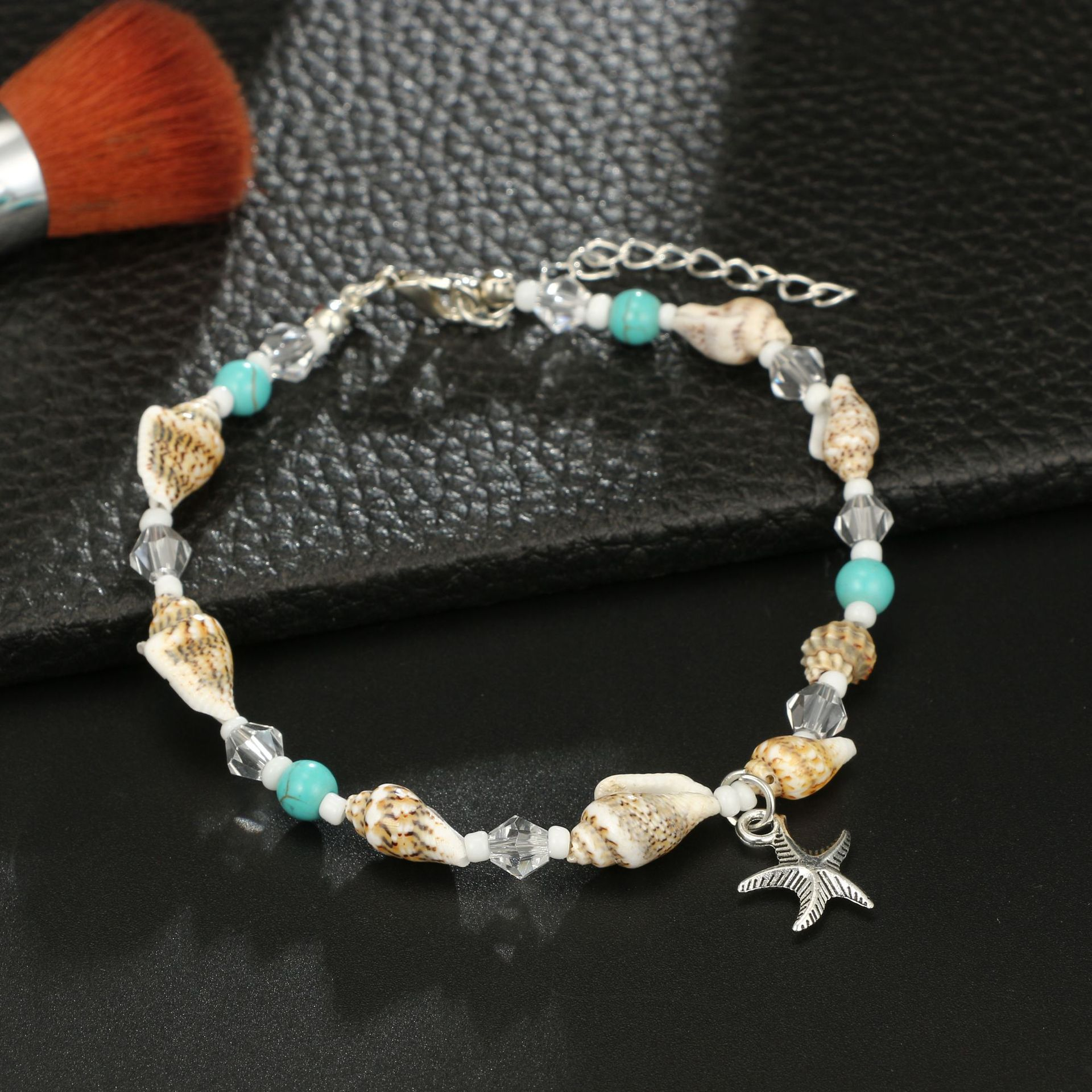 Bohemia Starfish Shell Anklets For Women Beach Anklet Leg Bracelet Handmade Foot Chain Boho Jewelry Gifts Accessories Wholesale 4