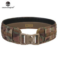 Emersongear Men Airsoft Combat Paintball Army Waistband Emerson MOLLE Load Bearing Combat Camo Belt EM9241 Black Coyote Multicam