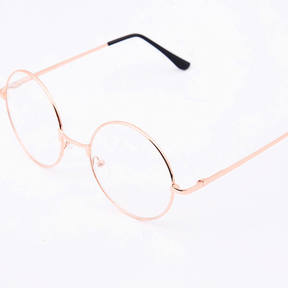 2019 Vintage Round Reading Glasses Unisex Metal Frame Retro Personality College Style Eyeglass Clear Lens Eye Glasses Frames Hot