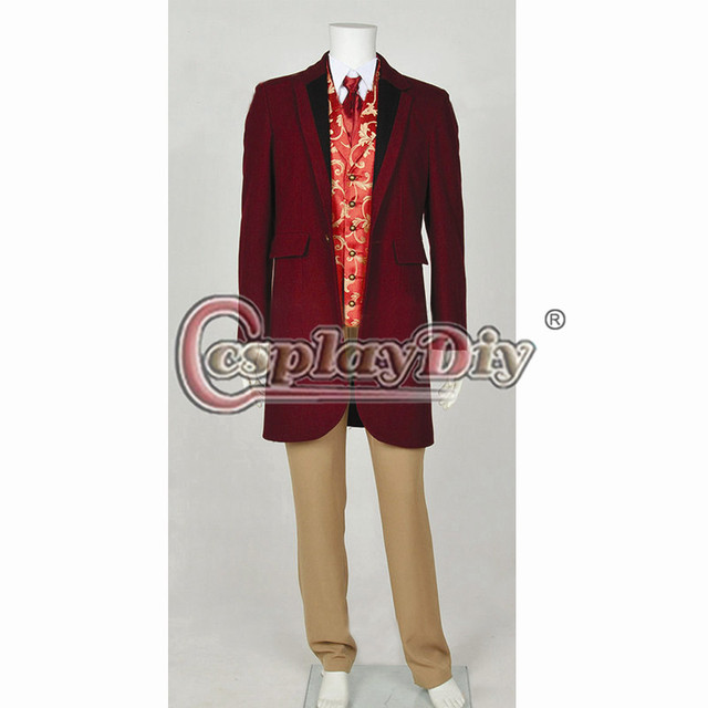 cosplaydiy django unchained calvin candie cosplay costume full set for adult halloween cosplay outfit custom made