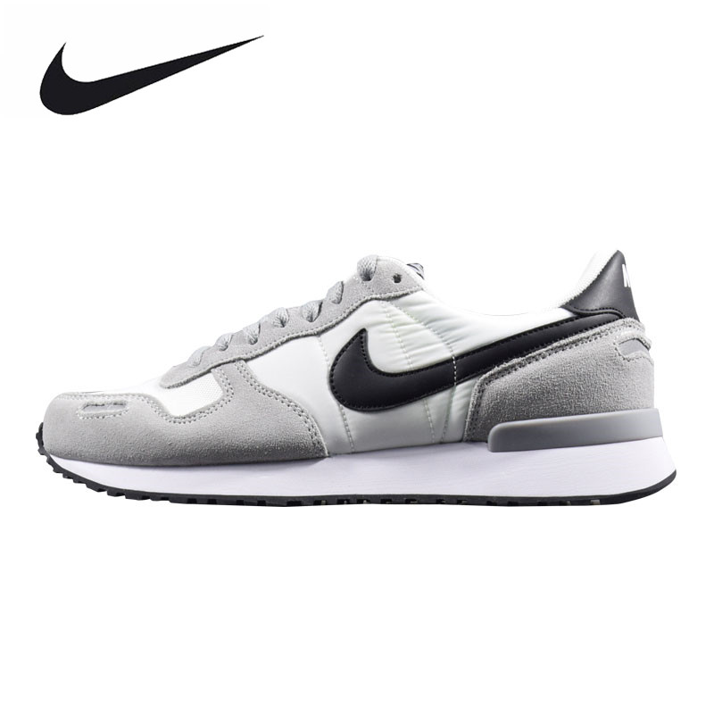 Nike AIR VRTX Men's Running Shoes,Original Sports Outdoor Sneakers Shoes, Gray, Breathable Non-slip Lightweight 903896 003 mulinsen men s running shoes blue black red gray outdoor running sport shoes breathable non slip sport sneakers 270233
