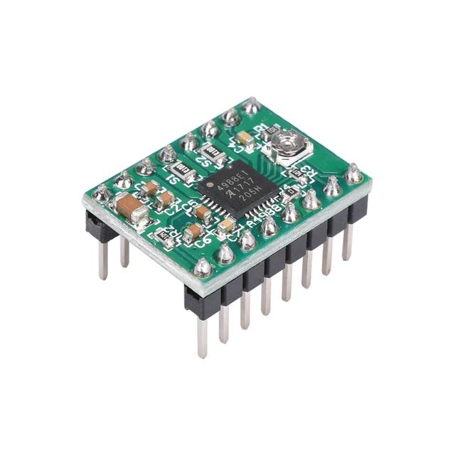 3D Printer Parts Stepstick A4988 DRV8825 Stepper Motor Driver Module With Heatsink Reprap Ramps 1.4/1.5/1.6 Control Board MKS 2