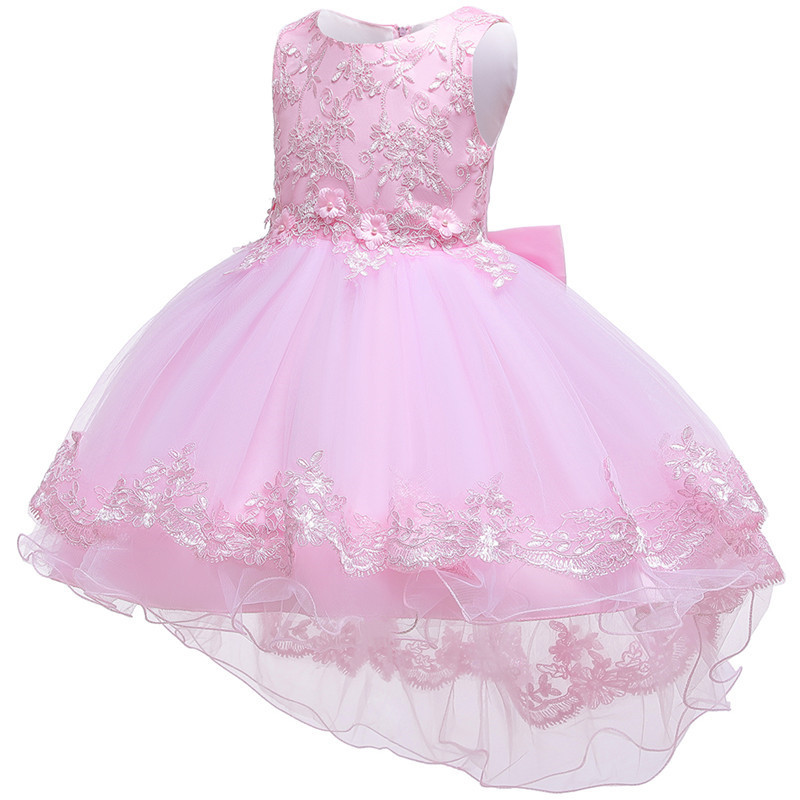 HTB1Kl4Ie.uF3KVjSZK9q6zVtXXaR - Kids Princess Dresses For Girls Clothing Flower Party Girls Dress Elegant Wedding Dress For Girl Clothes 3 4 6 8 10 12 14 Years