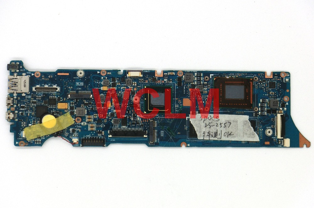 FREE SHIPPPING original UX31 UX31E Laptop motherboard MAIN BOARD 4GB ram memory WITH i3 i5 i7 CPU 100% Tested Working