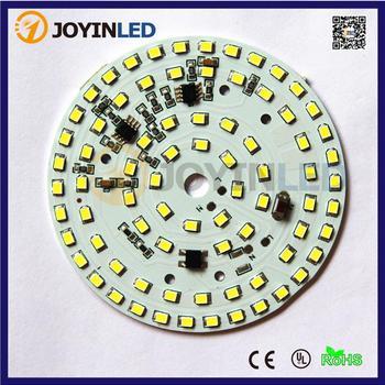 10pcs Free Shipping AC220V LED Bulb PCB 18W Driver Integrated 2835 SMD Lled PCB Chip Module