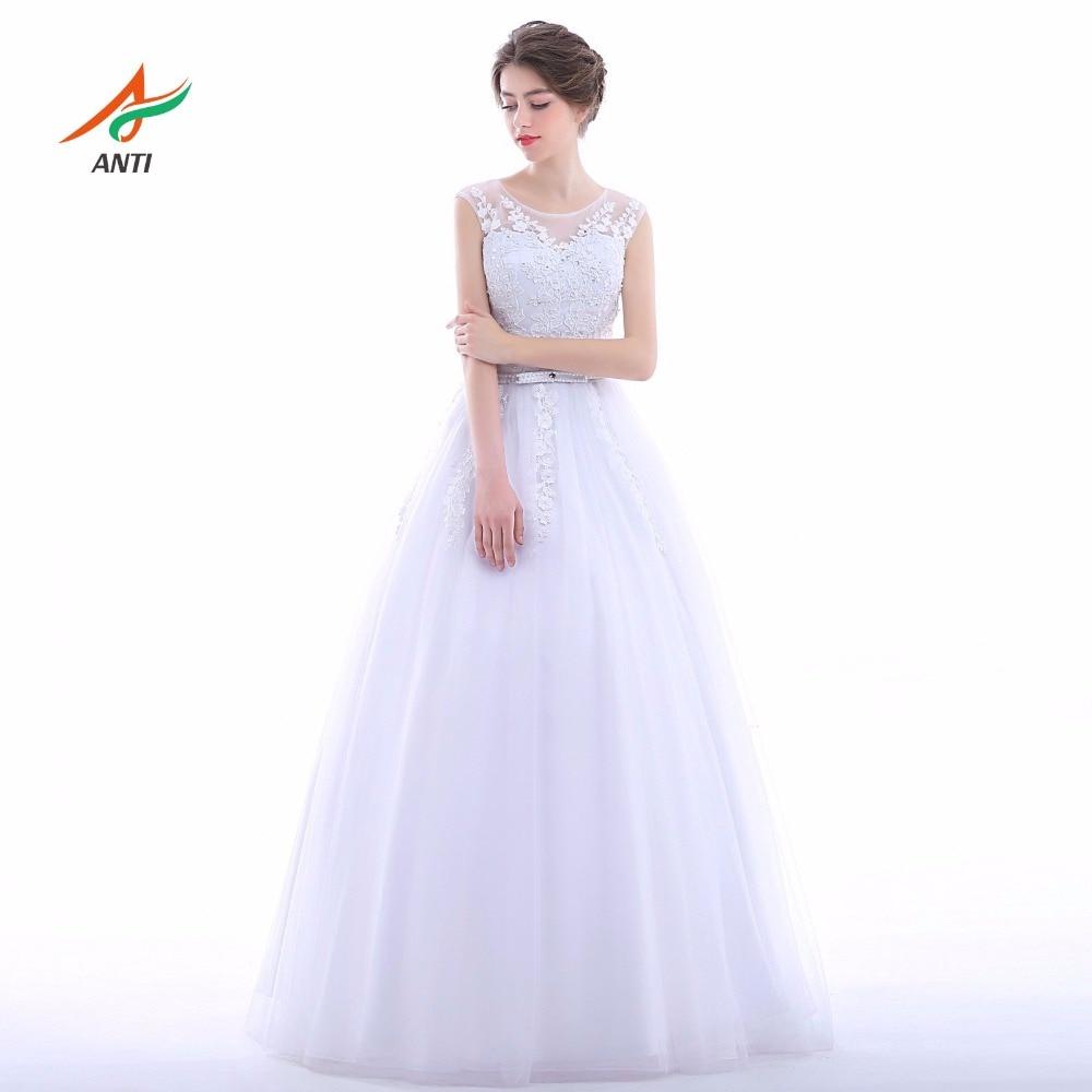 एंटी सुरुचिपूर्ण 2017 ए-लाइन - शादी के कपड़े