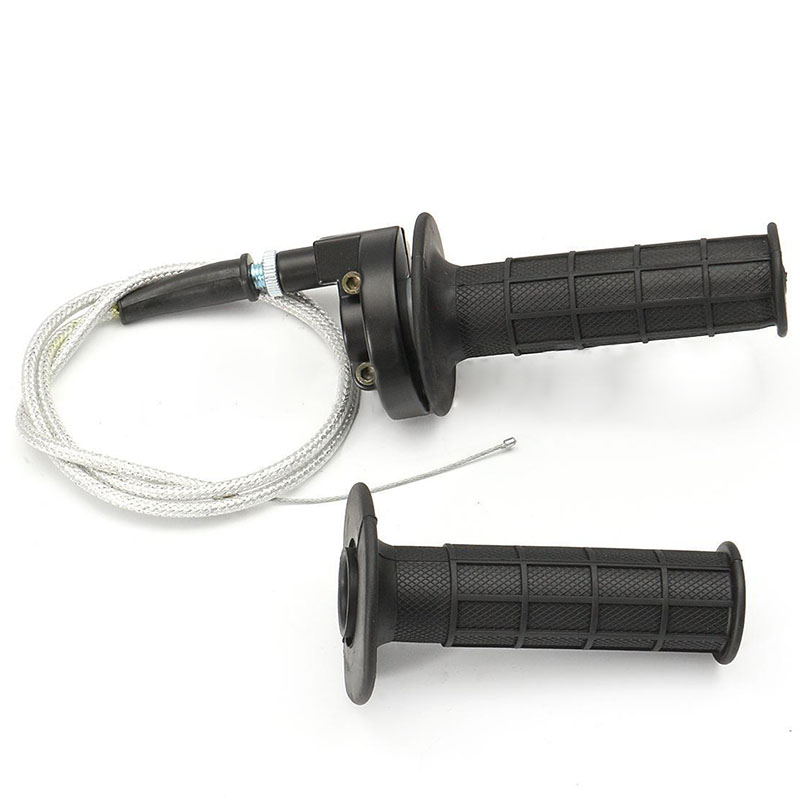 MAYITR Universal Motorcycle 7/8 22mm Twist Throttle Handlebar Hand Grips With Cable Left Right Brake Lever For Motocross ATV