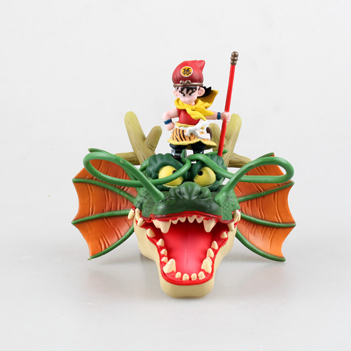 Dragon Ball Z Super Saiyan Goku Son Gokou 10# Riding Dragon Shenron PVC Action Figure Dragonball Z Figures Figuras DBZ saintgi goku dragon ball z action figures super saiyan son kaiouken pvc 14cm anime juguetes dragonball z esferas del