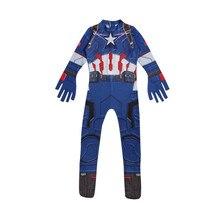 Avengers  Infinity Guerre 3 Captain America Zentai Body Costume  Combinaisons Cosplay Costume de Super Héros Costume Halloween Pa. 151eb0dc917