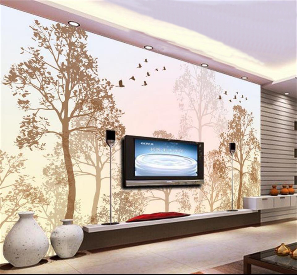 3d wallpaper photo wallpaper custom mural living room abstract tree autumn fantasy 3d painting sofa TV background wall sticker custom 3d wall mural wallpaper modern european style living room bedroom ceiling fresco background 3d photo wallpaper painting