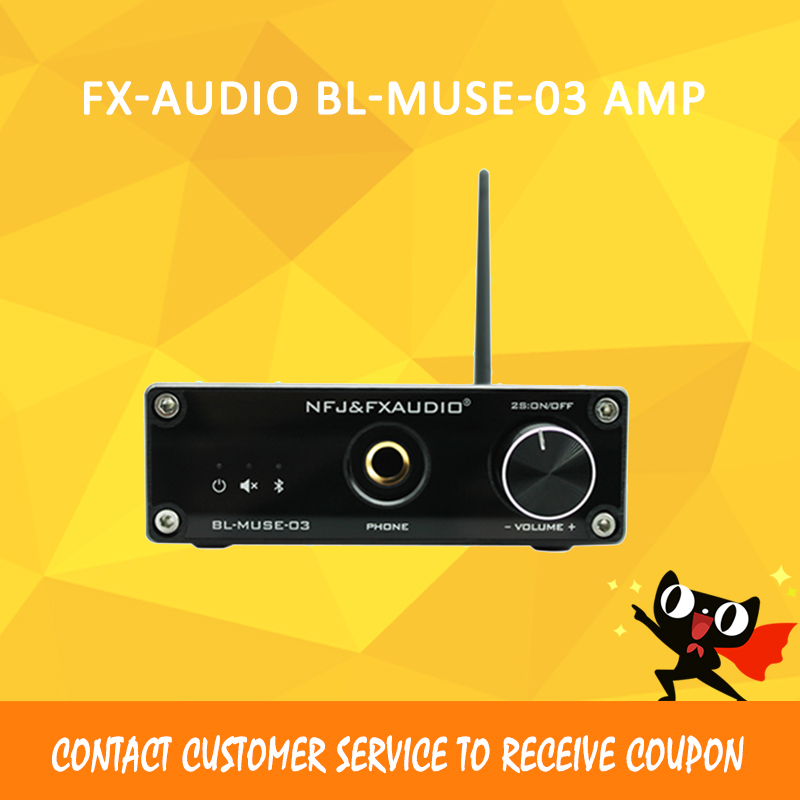 Fx-audio BL-MUSE-03 bluetooth amplificateurs Audio dac usb amplificateur 2.1 CSRA6421 hifi amplificateur de puissance amplificador audio