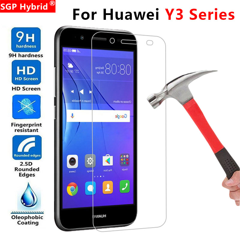 Protective Glass For Huawei Y3 2017 Glass On Y360 Y 3 360 Y3 II 2 Y3ii 3y Y32017 Tempered Glas Screen Protector Film Protect 9H