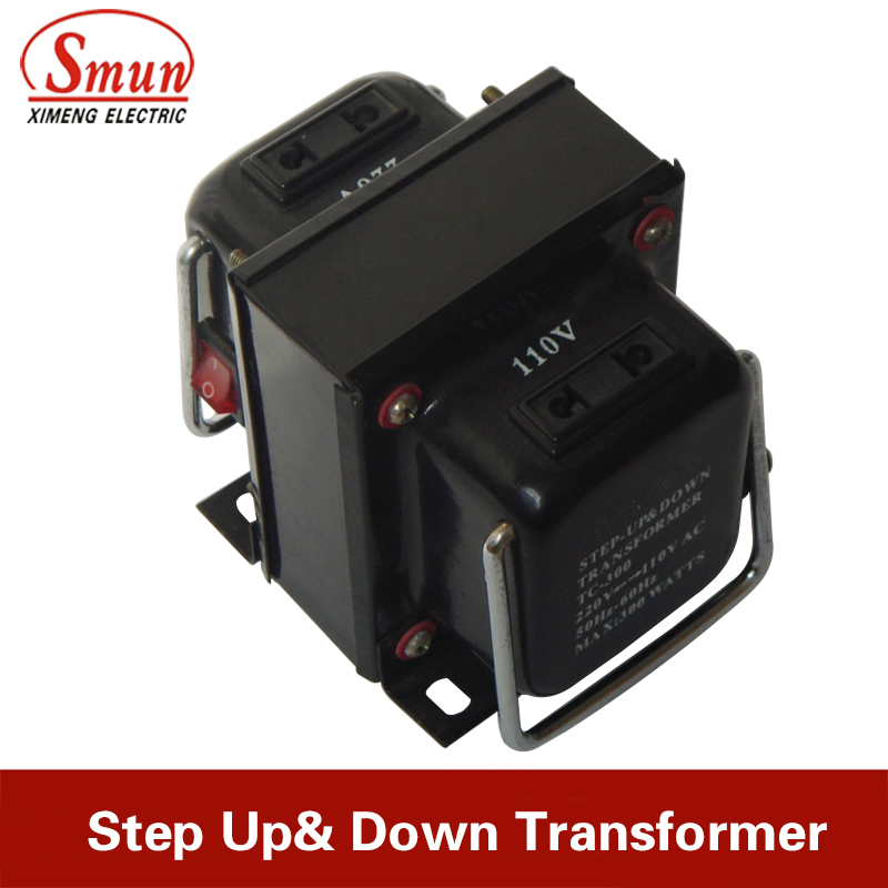 <font><b>500W</b></font> Portable Home Use Step Up&Down Transformer/Voltage <font><b>Converter</b></font> <font><b>110V</b></font> <font><b>to</b></font> <font><b>220V</b></font>/<font><b>220V</b></font> <font><b>to</b></font> <font><b>110V</b></font> For Refrigerator Microwave Hairdrier image