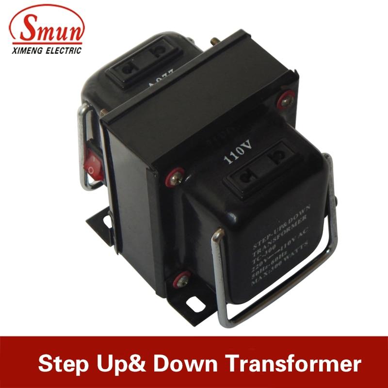 500W Portable Home Use Step Up&Down Transformer/Voltage Converter 110V to 220V/220V to 110V For Refrigerator Microwave Hairdrier 1pcs lot sh b17 50w 220v to 110v 110v to 220v