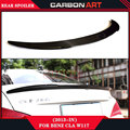 PD design carbon fiber rear spoiler car body kit wing for mercedes cla class w117 CLA 260 CLA 220 CLA 200 2013 2014 2015