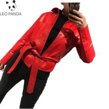 Real Leather Coat Ladies Genuine Leather Shirt 2018 Autumn New Leather Jacket Women Superior quality Short sheep skin Coat