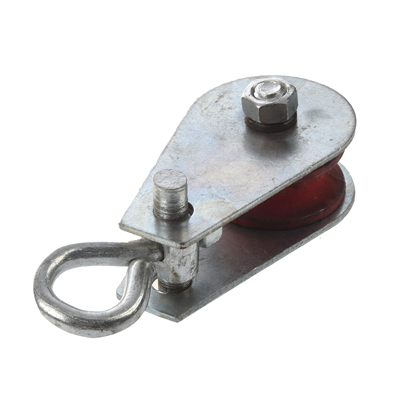 Promotion! 0.03T Single Swivel Ring Lifting Rope Pulley Sheave