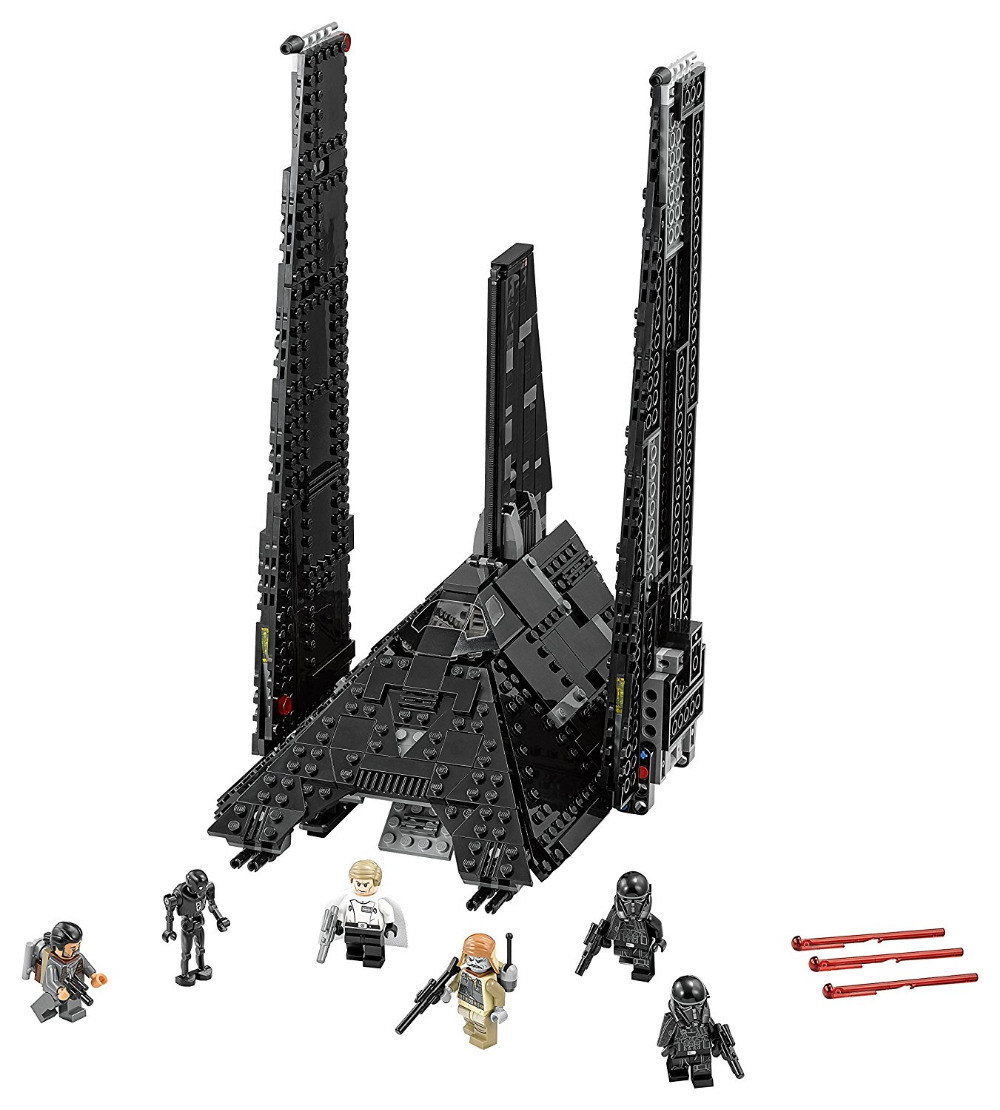 LEPIN STAR WARS Krennics Imperial Shuttle Model Building Blocks Bricks Model Kids Toys Marvel Compatible Legoe lepin city town city square building blocks sets bricks kids model kids toys for children marvel compatible legoe