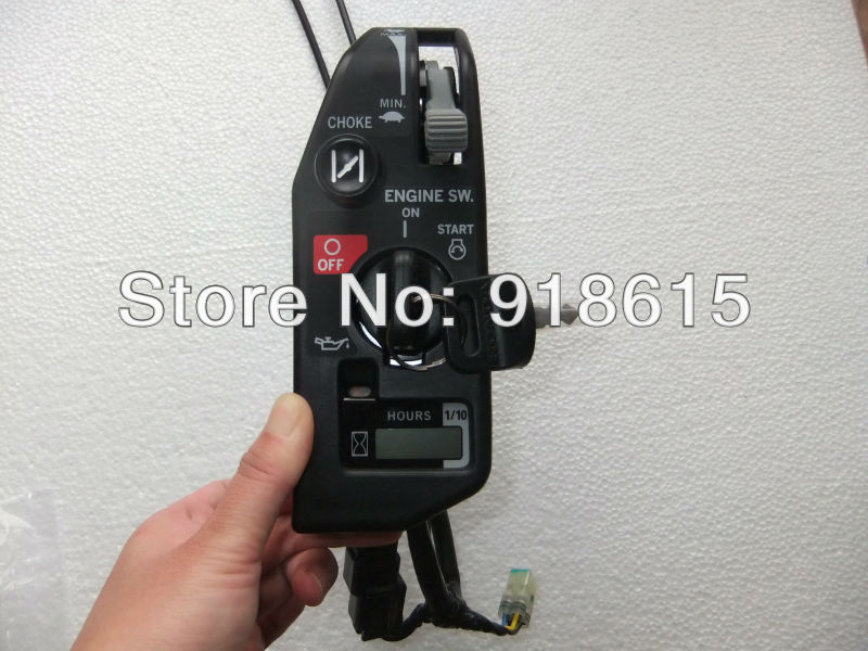 GX630 GX690 control box control panel starter box switch key  for honda GX630 GX690 gasoline engine geniune parts фен щетка remington as8090 keratin therapy