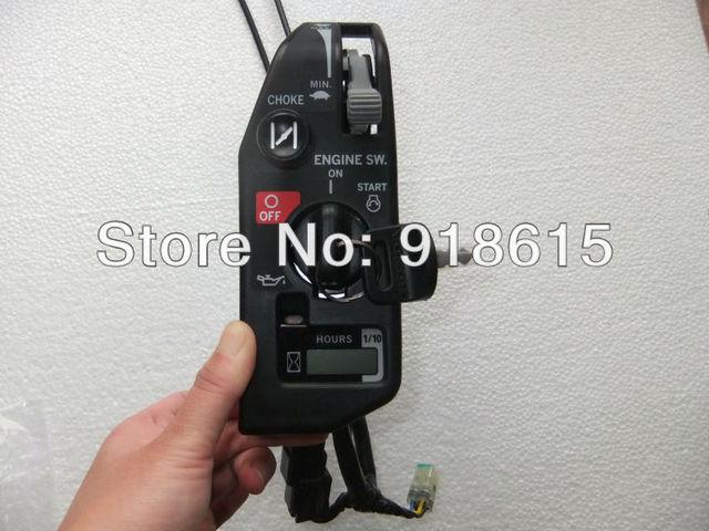 gx630 gx690 control box control panel starter box switch key for honda  gx630 gx690 gasoline engine geniune parts