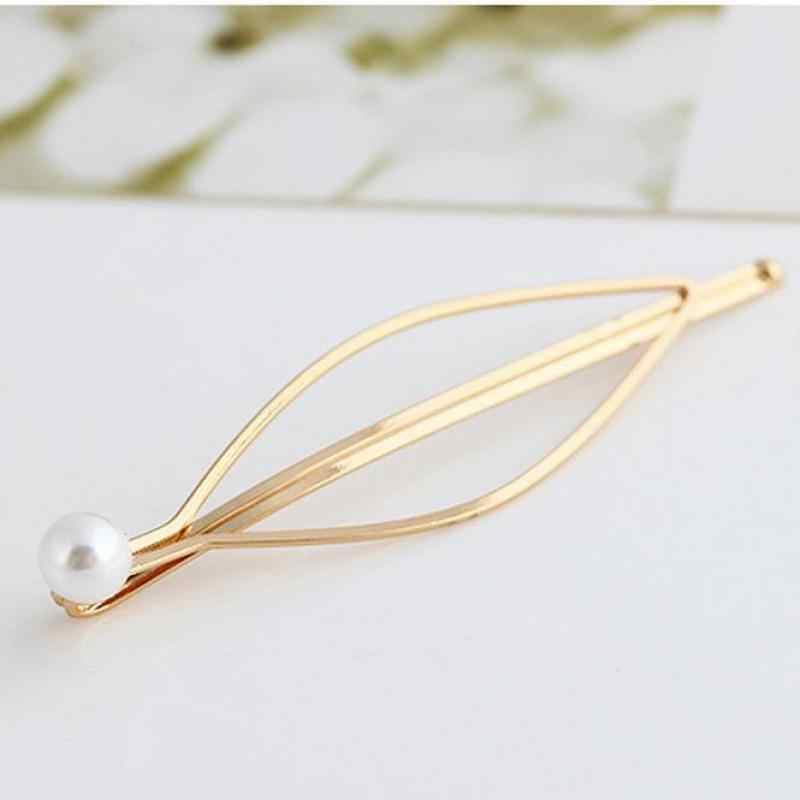 1pc חדש אופנה 2020 מוצר חדש השקת זול שיווק Wild פרל זהב סיכת ראש קליפ אביב צד עבור תכשיטי נשים מתנה