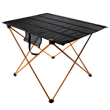 folding study table for kids Portable Camping Side Tables with Aluminum Table
